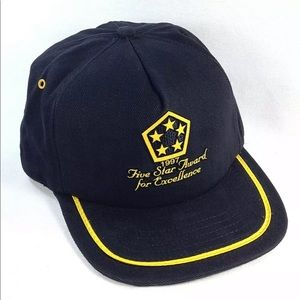 Chrysler 1997 5 Star Award For Excellence Hat Cap